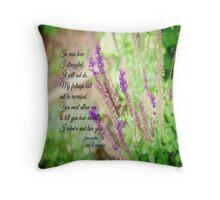 Mr Darcy Proposal Jane Austen Throw Pillow