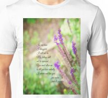 Mr Darcy Proposal Jane Austen Unisex T-Shirt