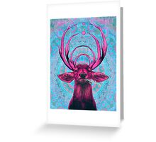 Dope Deer Greeting Card
