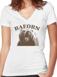 Beorn is BAE Women's Fitted V-Neck T-Shirt