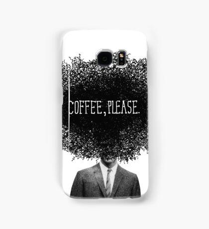 Coffee, Please Samsung Galaxy Case/Skin