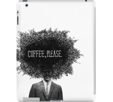 Coffee, Please iPad Case/Skin