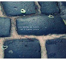 Heart Broke by blackberrymoose