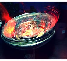 Ashtray of Fire by blackberrymoose