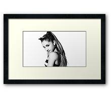 Ariana Grande SNL Bumper Framed Print