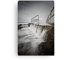 Back of the Baths Canvas Print