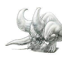 The Demoncrotch Kangaroo by Gregory Titus