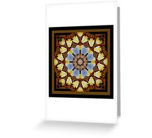 Through the Watcher's Window Shawl Greeting Card