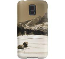 Little Snowy Hut by Mountains Samsung Galaxy Case/Skin