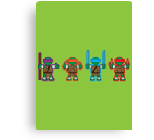 TMNT - (Back) Canvas Print