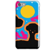 Four Trees at Twilight iPhone Case/Skin