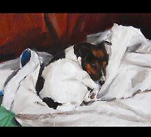 Sunday Nap by Clair Hartmann