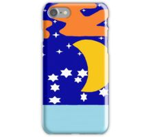 Four Trees Overlooking a Lake iPhone Case/Skin
