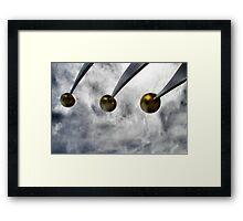 Sky Spheres Framed Print