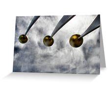 Sky Spheres Greeting Card