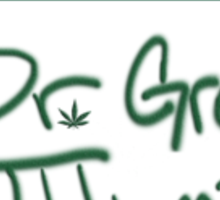 Dr. Green Thumb Sticker