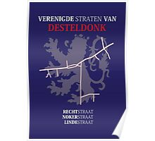 Verenigde Straten van Desteldonk Poster