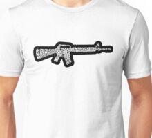 Riflemans Creed on M16 Unisex T-Shirt