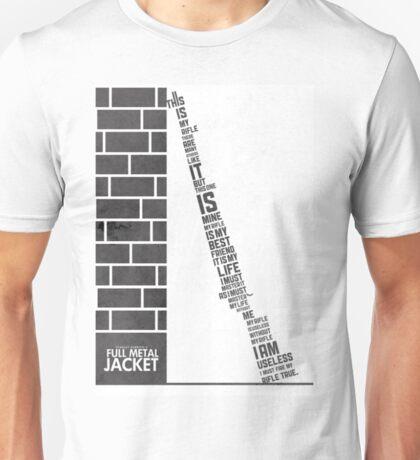 Full metal Jacket poster Unisex T-Shirt