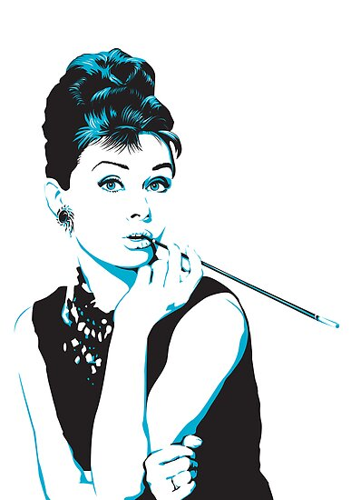 Audrey Hepburn by katmac
