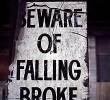 Beware of Falling Broke. by Steve Chapple