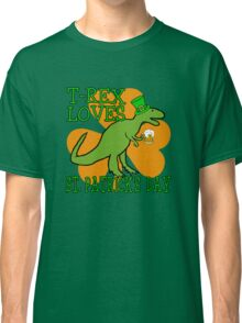 T-REX LOVES ST. PATRICK'S DAY Classic T-Shirt