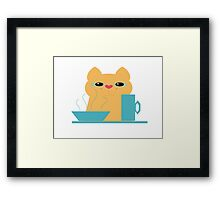 Did I Get Your Place? Framed Print