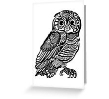 Owlll_oodle Greeting Card