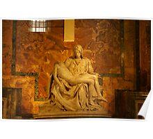 The Pieta` By Michelangelo Poster