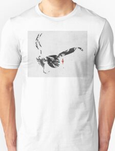 The place beyond the pines sunglass face - with background Unisex T-Shirt