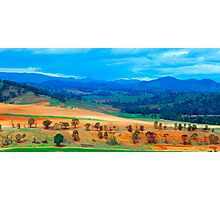 The Masters Paintbrush - Southern NSW, Australia Photographic Print