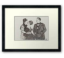 'Sweet Kisses for Stan' Framed Print