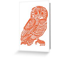 owll_out Greeting Card