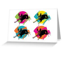 PINKY Pop Art  Greeting Card