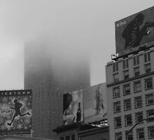 San Francisco Skyline – Union Square – Nike / iPod by Alistair Hoy