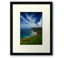 High View Framed Print