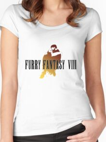 Furry Fantasy VIII Women's Fitted Scoop T-Shirt