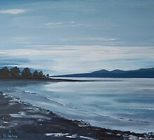 River Forth Evening Glow by Anne Nicholson