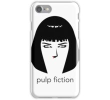 Pulp Fiction by burro iPhone Case/Skin