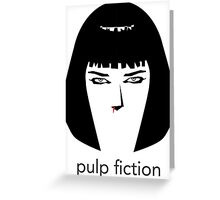 Pulp Fiction by burro Greeting Card