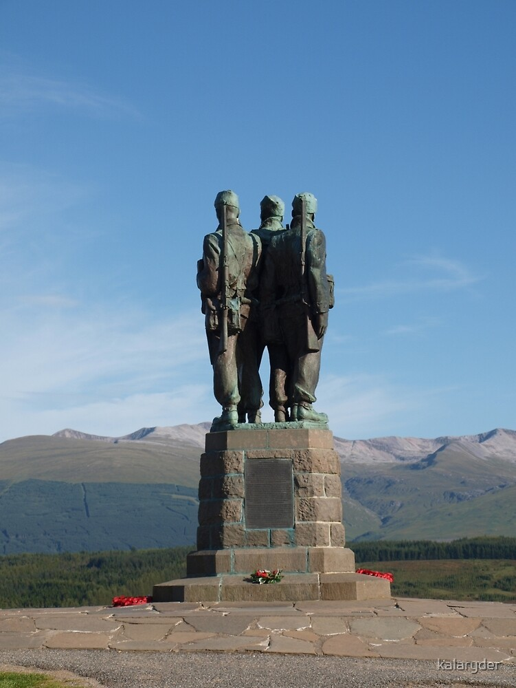 Commando Memorial Spean Bridge (4) by kalaryder