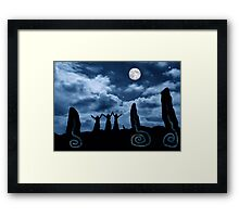Moondancing Framed Print