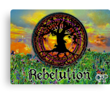 Rebelution Tree of Life 'Bright Side of Life' Beautiful Artwork Canvas Print