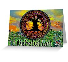 Rebelution Tree of Life 'Bright Side of Life' Beautiful Artwork Greeting Card
