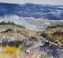 Rocks and Hills by Anne Nicholson