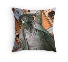 Sir John Betjemen statue  Throw Pillow
