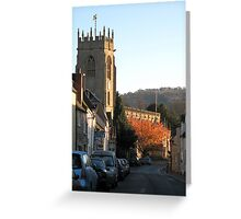St Peter's Church, Winchcombe Greeting Card
