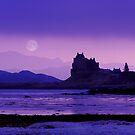 Moonrise : Isle of Mull by Angie Latham