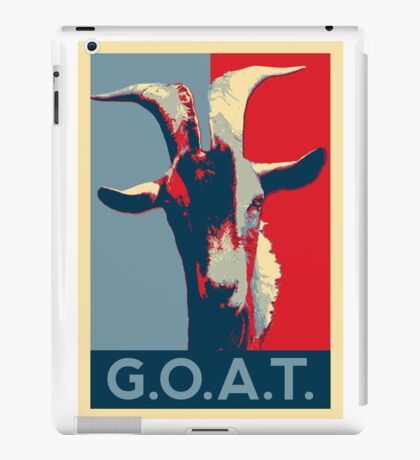G.O.A.T. - GOAT - Greatest of all time iPad Case/Skin