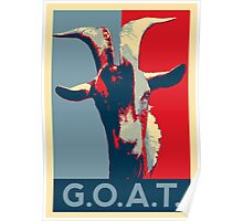 G.O.A.T. - GOAT - Greatest of all time Poster